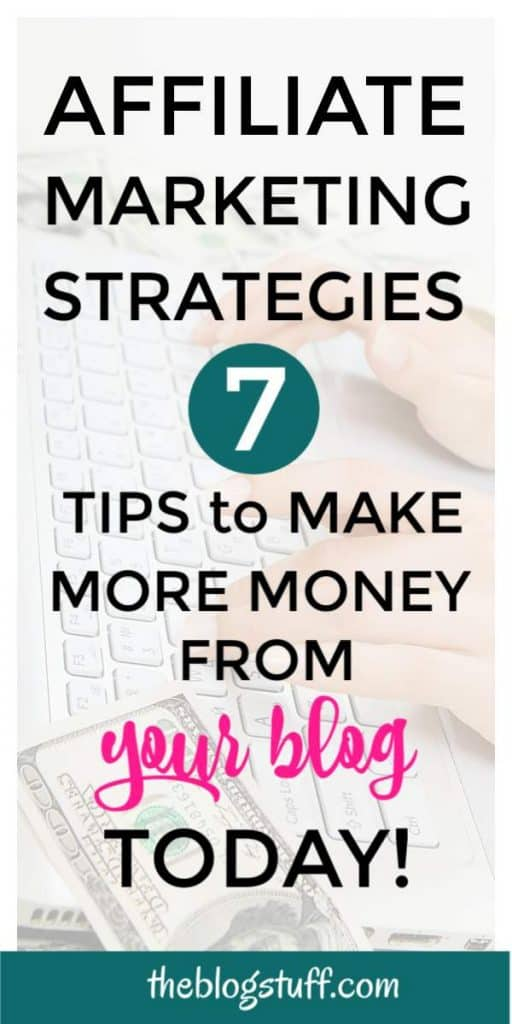 How to make money from your blog using affiliate links. Increase your earnings with these effective tips.