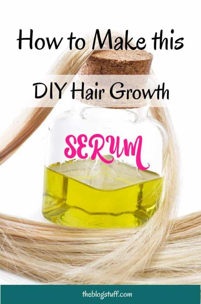 diy hair growth serum recipe natural longer hair the