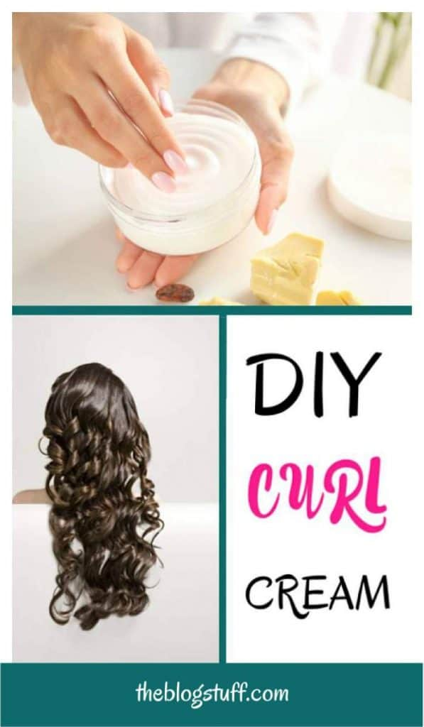 Best homemade DIY curl cream to make your hair smoother and your curls more defined