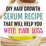 Diy hair growth serum recipe that works