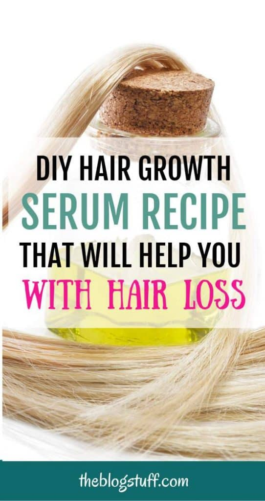 Diy hair growth serum recipe that works