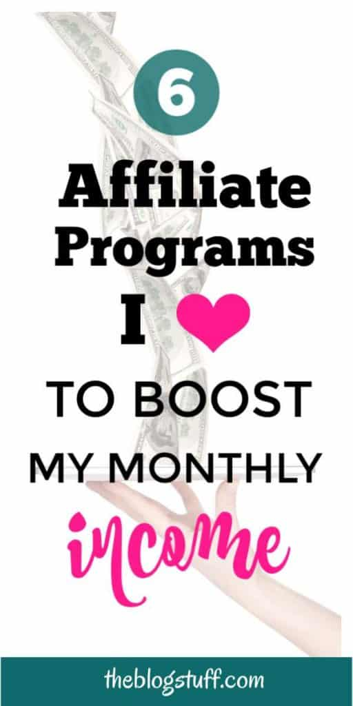 6 Top paying affiliate programs every blogger should join to make a passive income from home