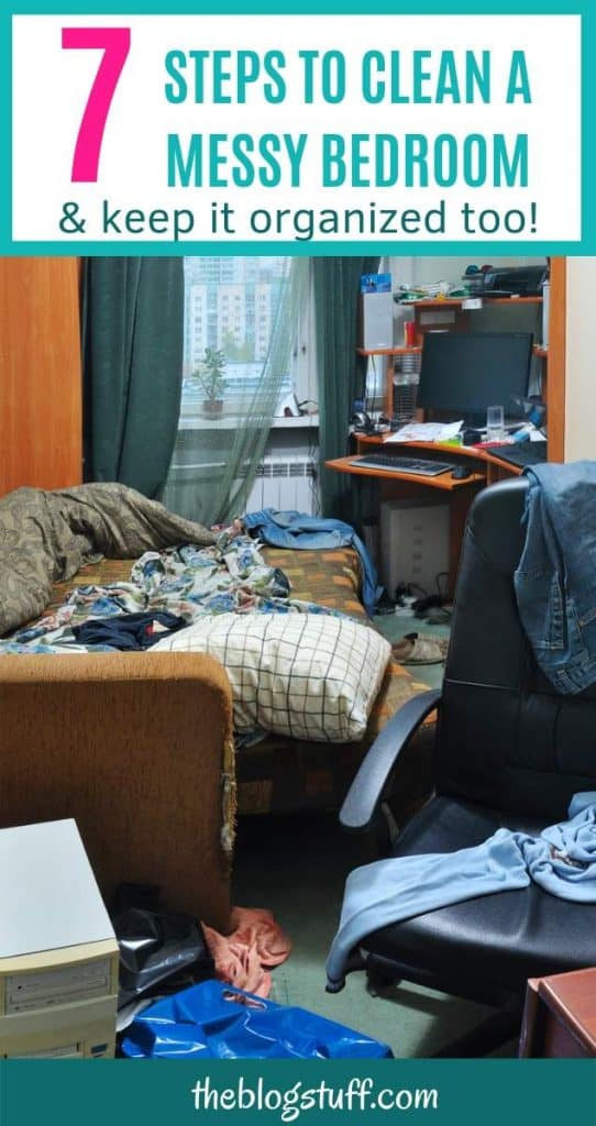 7 bedroom cleaning tips you must use if you want to keep your room neat and free of clutter.