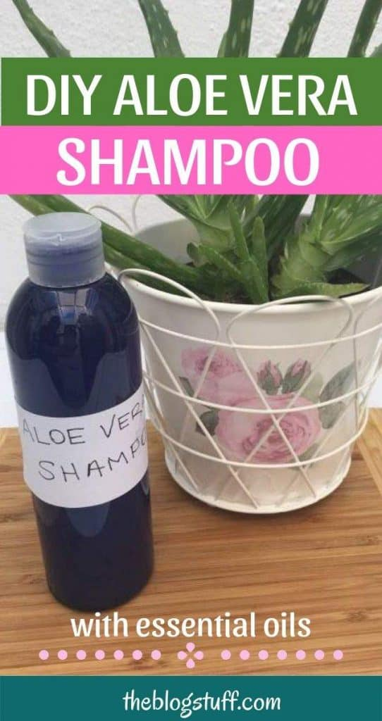 Homemade aloe vera shampoo recipe for hair loss