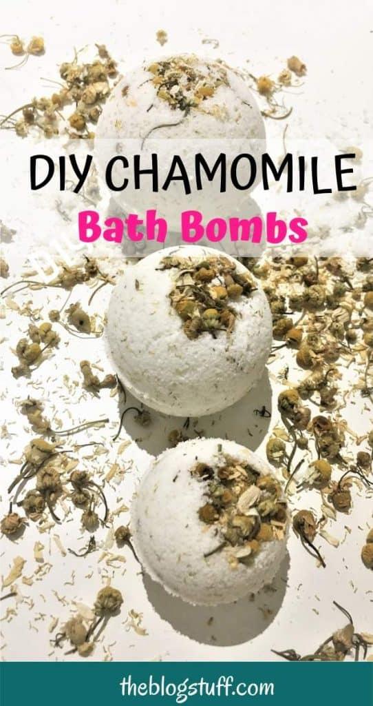 Lavender and chamomile bath bomb recipe