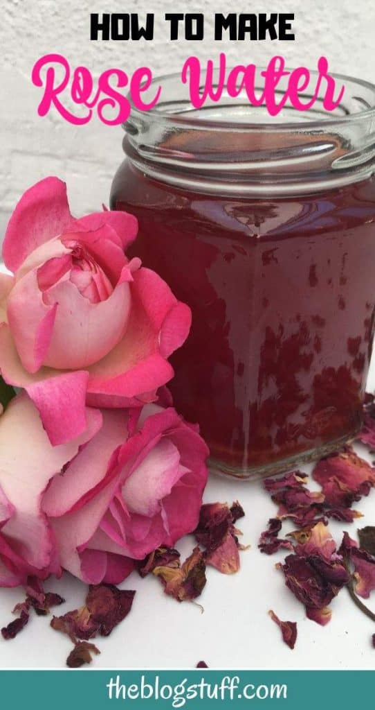 DIY rose water recipe