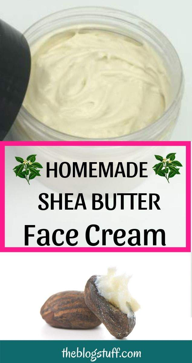 shea butter face cream recipe