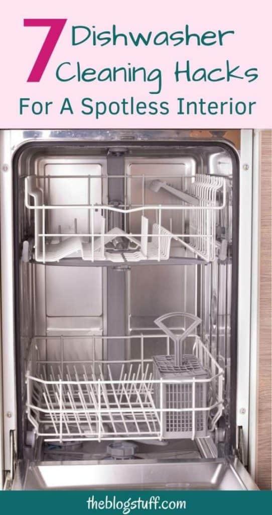 Dishwasher cleaning hacks
