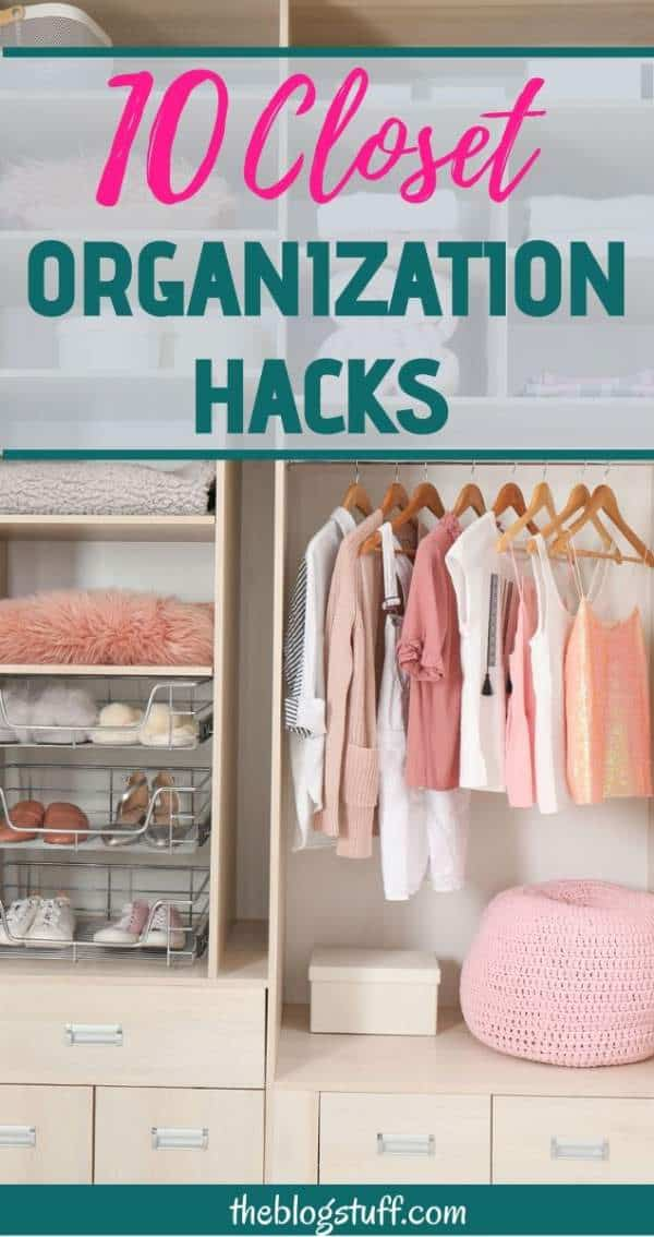 closet organization hacks ideas