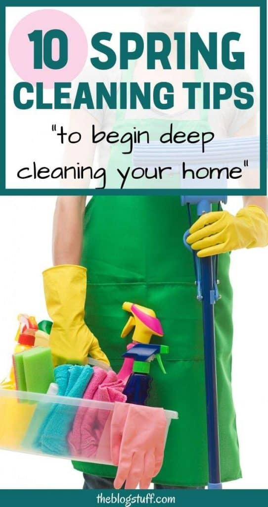 Spring cleaning tips that will help you deep clean your home