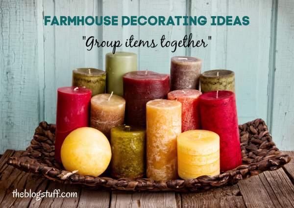 Farmhouse decoration ideas on a budget