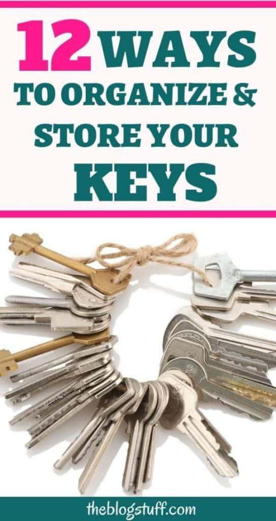 How to organize keys