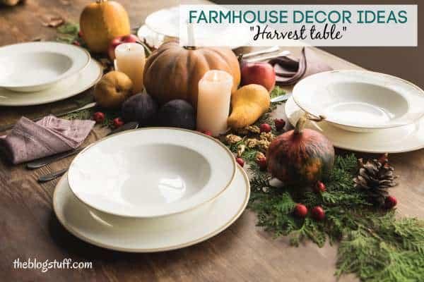 Cheap farmhouse decor ideas