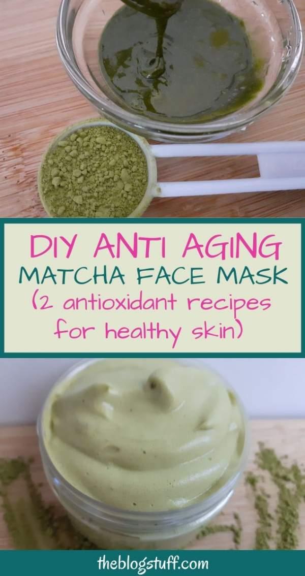 homemade matcha face mask recipe
