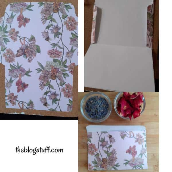 DIY scented sachet for closets and drawers