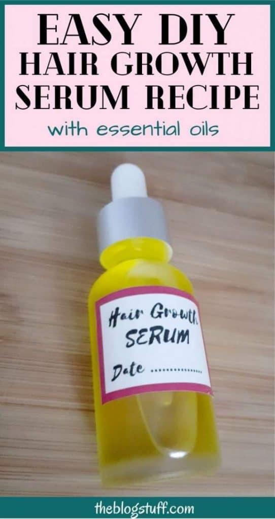 Easy DIY Hair Growth Serum Recipe With Essential Oils (It ...