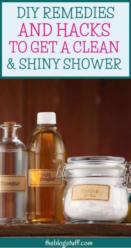 Shower cleaning hacks and remedies