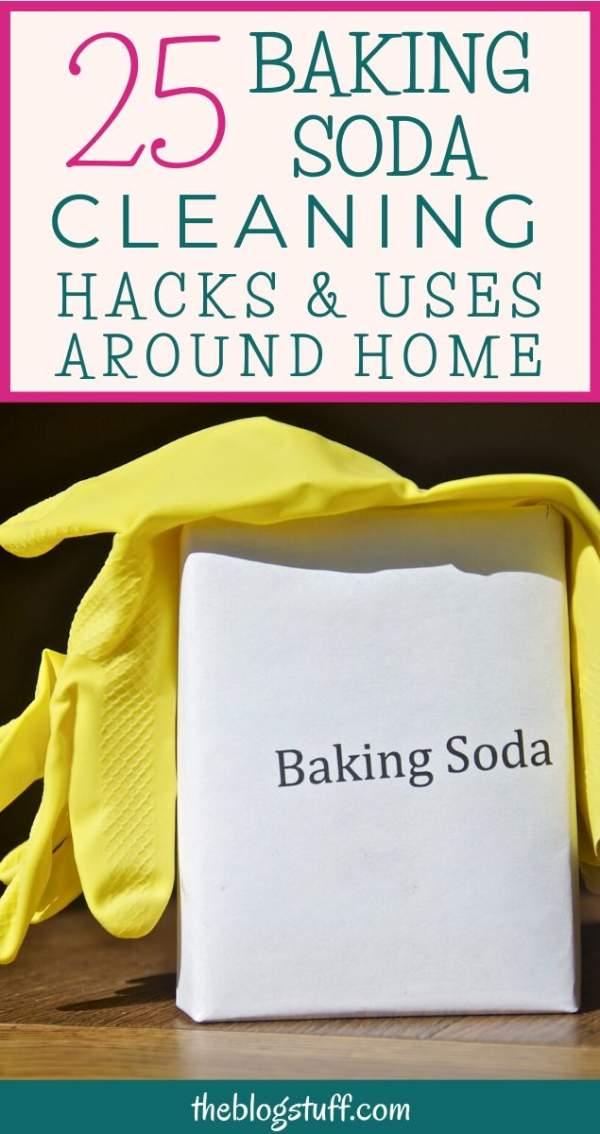 baking soda cleaning hacks
