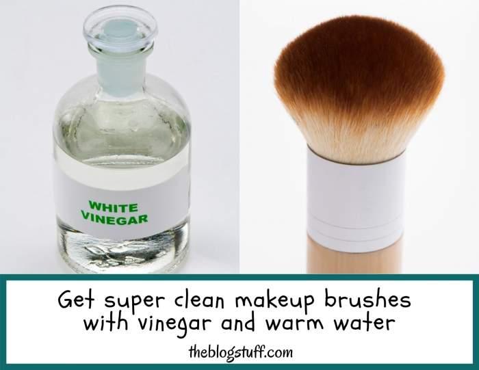 How to wash makeup sponges