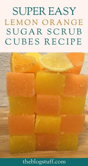 lemon orange sugar scrub cubes recipe 1 e1601998808295
