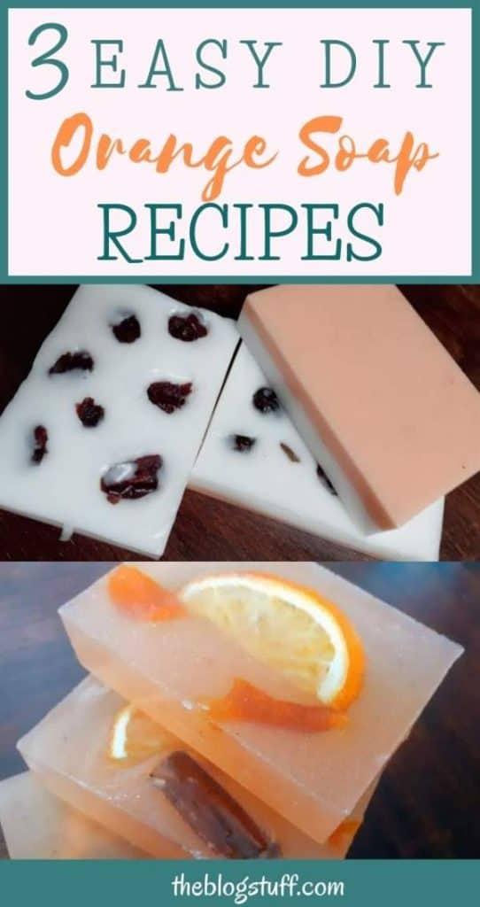 Homemade orange soap recipe