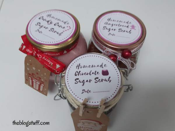 Christmas sugar scrub recipes