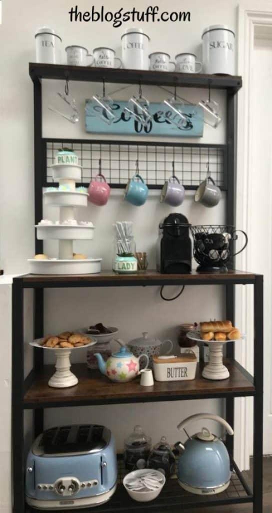 In home coffee bar ideas